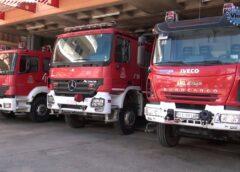 Φωτιά σε πολυκατοικία στην ανατολική Θεσσαλονίκη